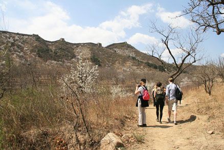 , Beijing Hikers Swedish Embassy, April 14, 2011